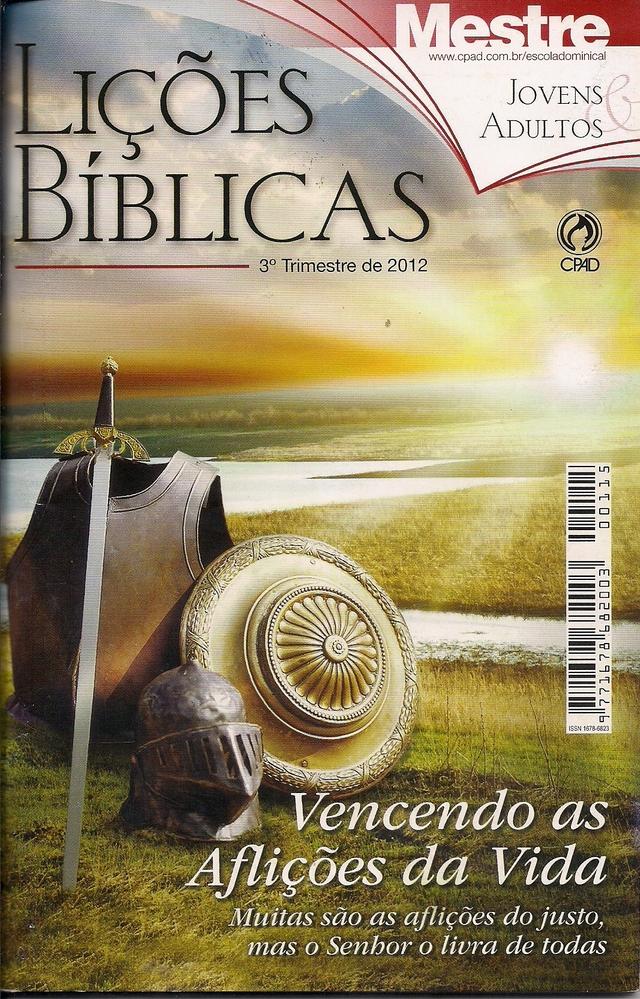revista da escola dominical 4 trimestre 2012