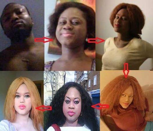 OnlineNigeria News - OMG! Nigerian Transgender Stephanie Rose Poses  Completely B@re (+18)
