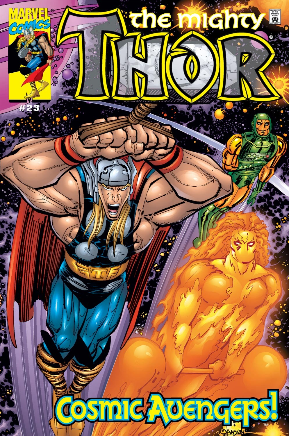 Thor (1998) Issue #23 #24 - English 1