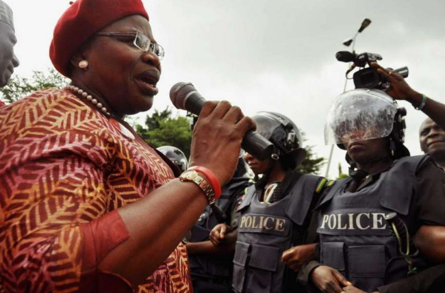 Image result for Ezekwesili Joins Troops To Search For Chibok Girls In Sambisa Forest