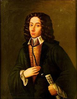Giovanni Battista Pergolesi (1710-1736) en un retrato presuntamente de su persona.