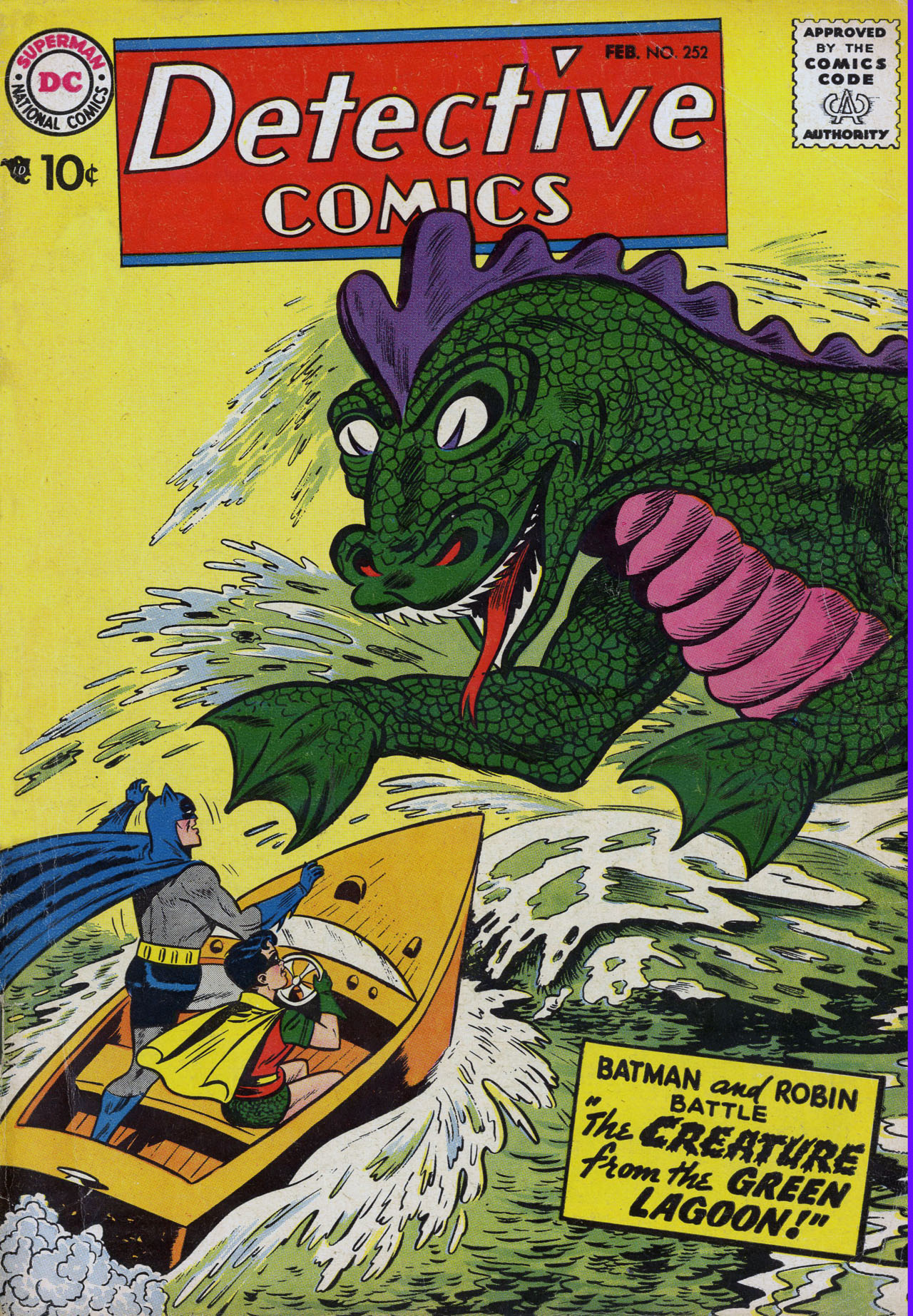 Read online Detective Comics (1937) comic -  Issue #252 - 1