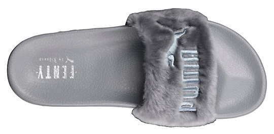 huge selection of 1ab50 4ccb3 Shoe of the Day | PUMA by Rihanna Fur Slides by FENTY ...