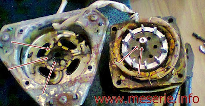 motor masina spalat defect