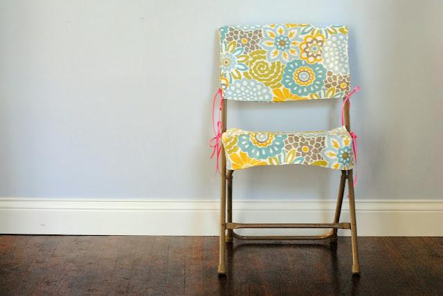 Diy Folding Chair Slipcover