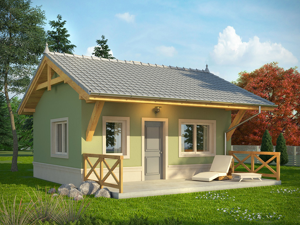 It does not matter if our house is small, what important is we can make it a home. So if you are looking for cute but attractive house design, you are on the right page! Below is a compilation of small beautiful house design from dom.pl, a website from Poland. These houses are attractive and very good choice for a single living or for couples without children. But as what the title implies, you can even design your own floor plan, using this house styles to make more bedroom for a small family.