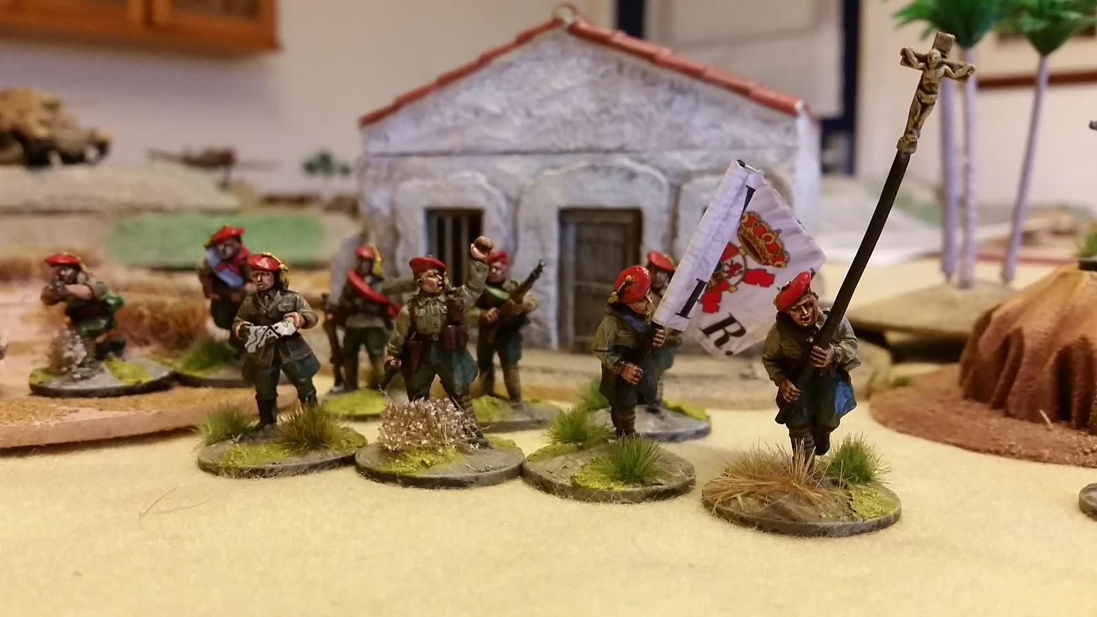 Yarkshire Gamer 28mm Spanish Civil War Carlists From