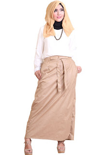 Gambar Rok Celana Rocella Rania Beige