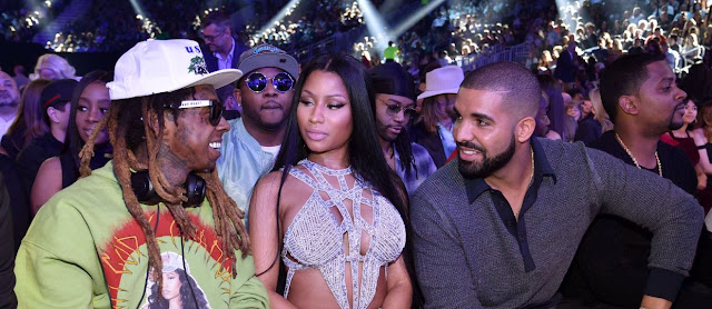 fotos videos actuacion drake nicki minaj lil wayne premios billboard gyalchester light my body up