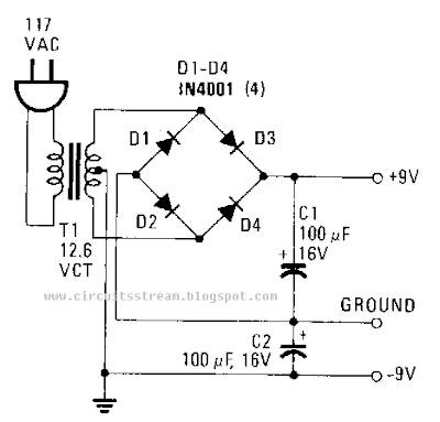 circuit diagram: How to Build a Simple Power supply