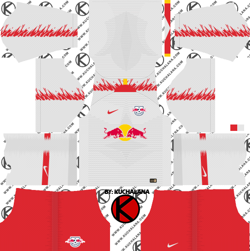 RB Leipzig 2018/19 Kit - Dream League Soccer Kits