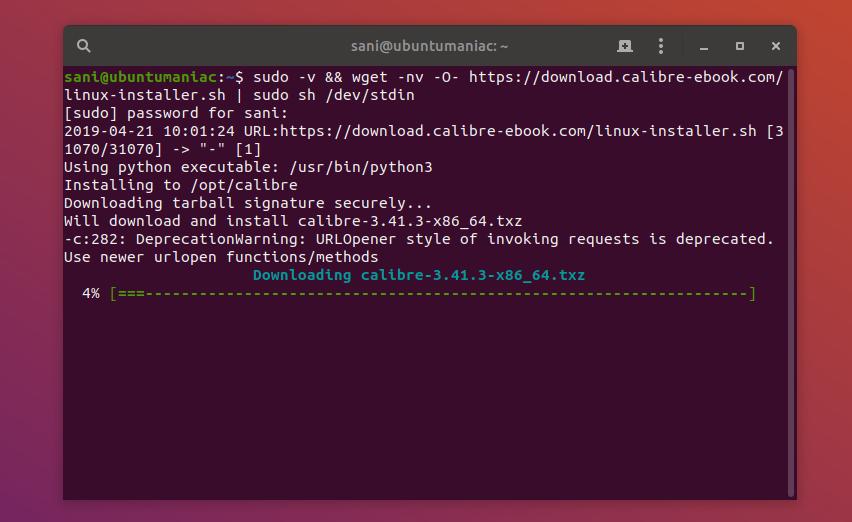 Calibre 3 41 3 is Update, Install on Ubuntu / Debian / Linux