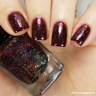 Emily De Molly The Amber Palace Swatches and Review