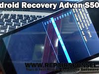 Cara masuk Android Recovery Advan S50H