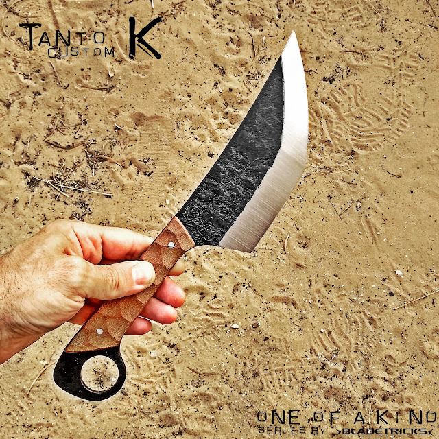 Tactical EDC Tanto knife karambit knife maker Nash for Bladetricks