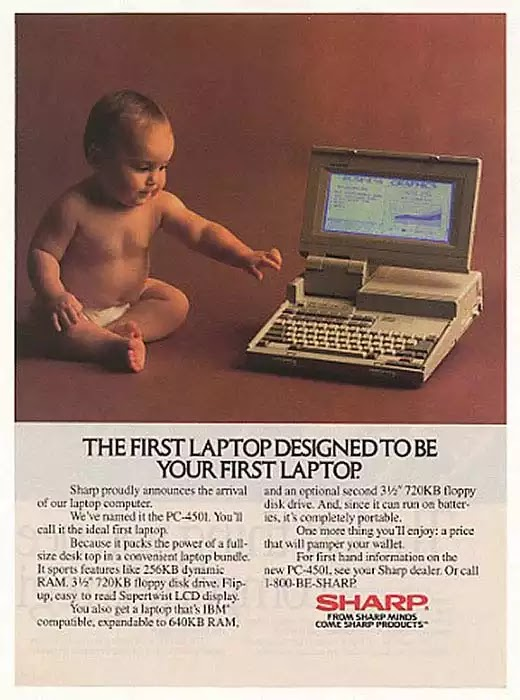 Old days' Computer Advertisements 32