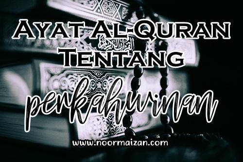 Ayat Al-Quran Tentang Kahwin