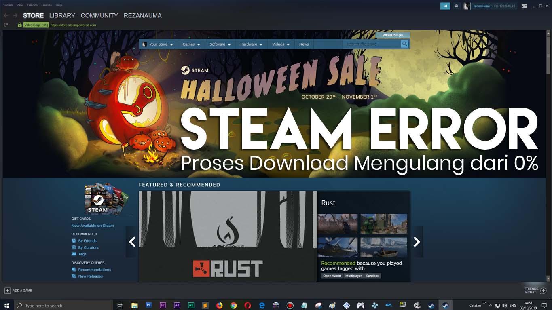 Cara agar Proses Download Game Steam tidak Error Mengulang 0 ...