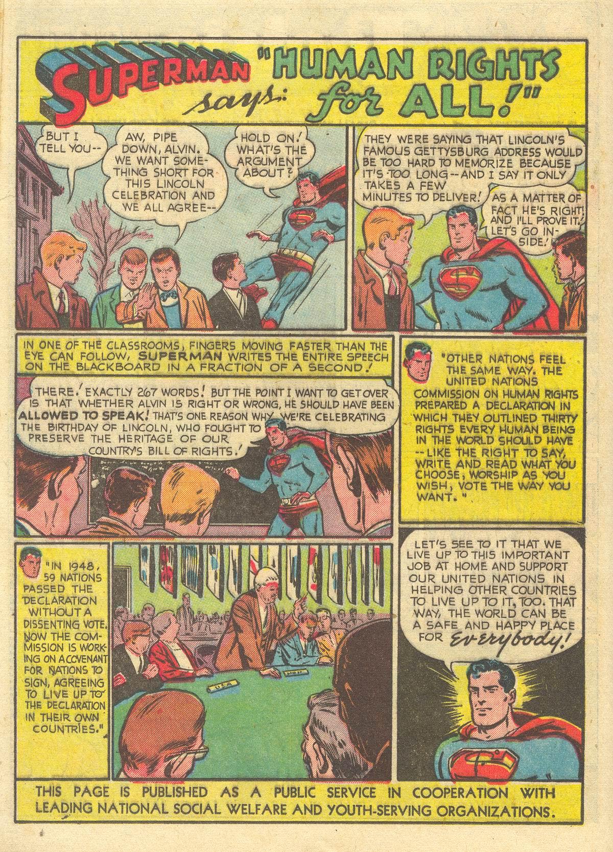 Read online World's Finest Comics comic -  Issue #51 - 42