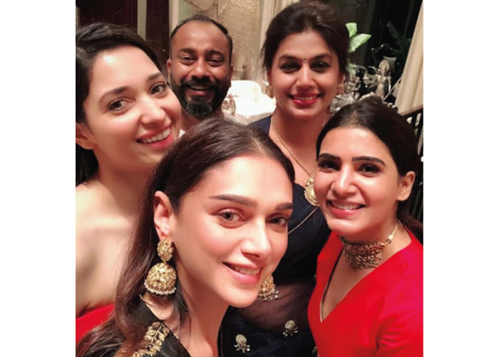 Tamannaah Bhatia With friends