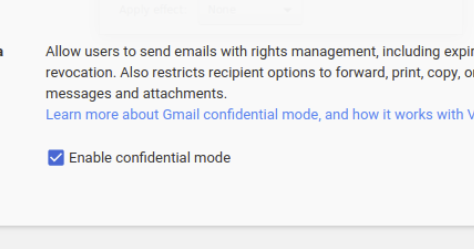 G Suite Updates Blog: Keep data secure with Gmail