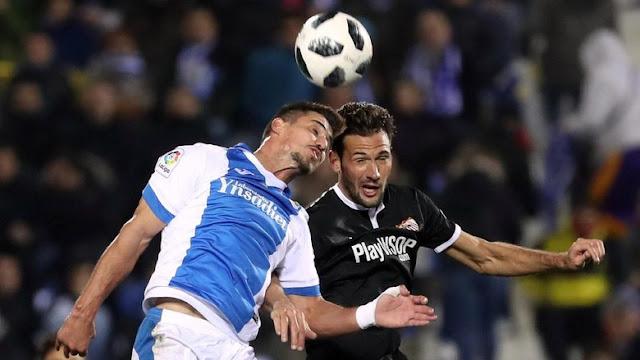 Copa Del Rey: Sevilla Diimbangi Leganes 1-1