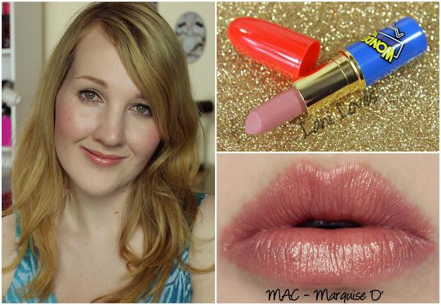 MAC Marquise D' lipstick swatch