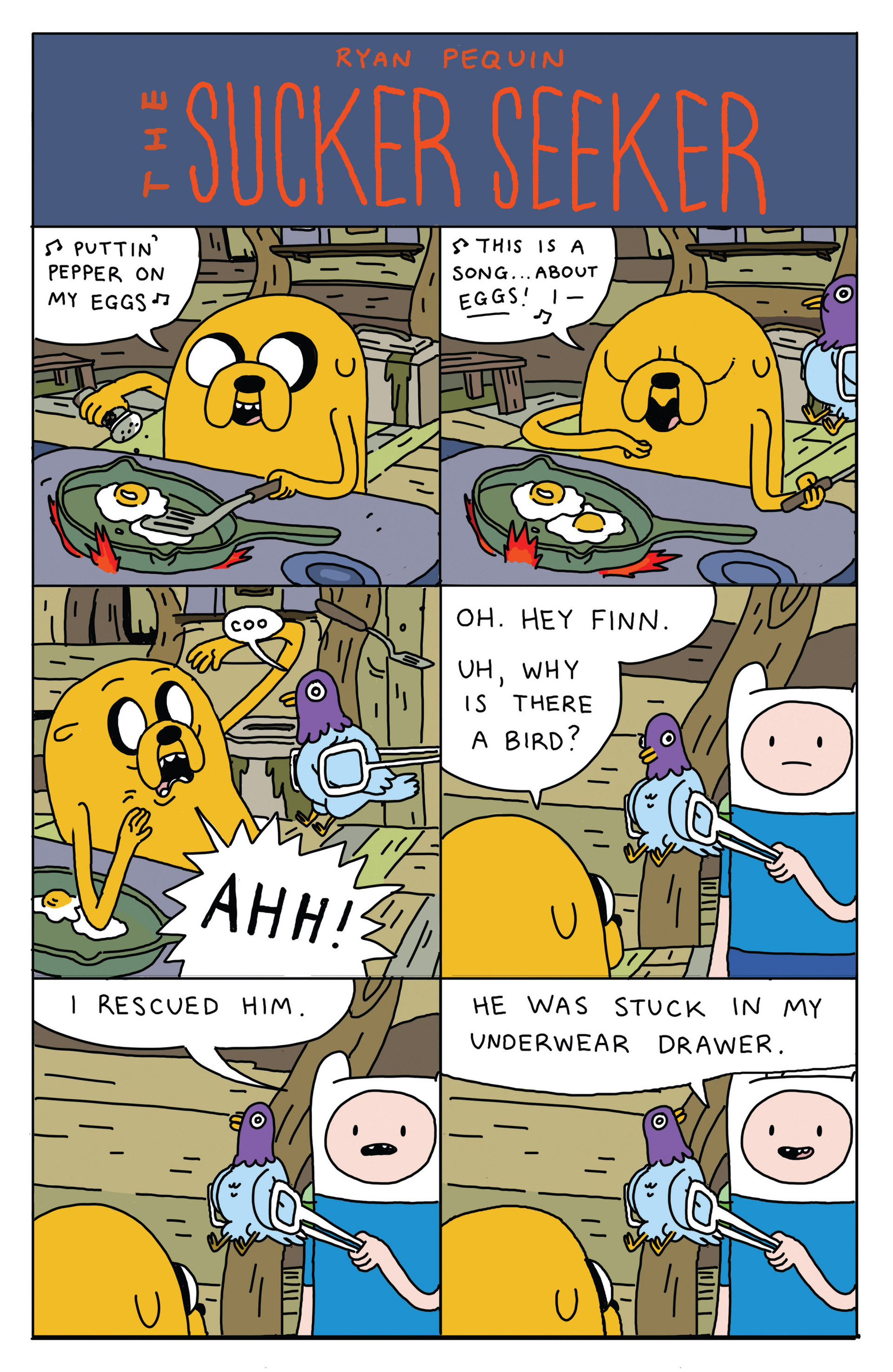 Read online Adventure Time 2013 Summer Special comic -  Issue #Adventure Time 2013 Summer Special Full - 12