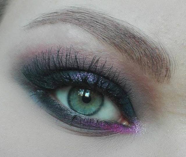 Blogowy grudzień: Pierwsza propozycja sylwestrowego makijażu   Zoeva, Kobo, My Secret, The Balm