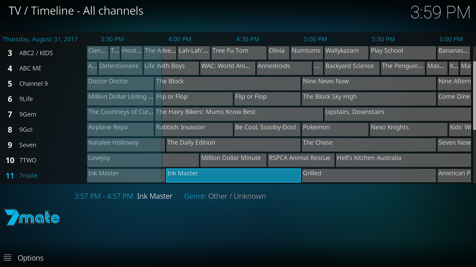 Simple Freeview AU IPTV Kodi Setup (with full guide & radio)