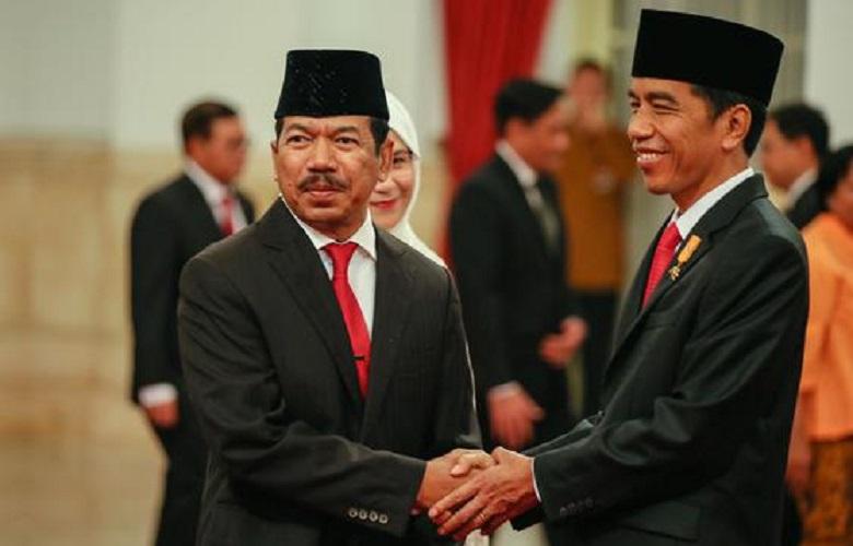 Jokowi lantik Djoko Setiadi jadi Kepala BSSN