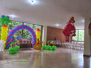 DECORACION FIESTAS PRINCESAS DE DISNEY