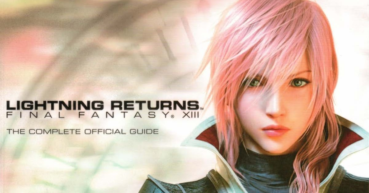 Returns pdf official guide final lightning xiii fantasy