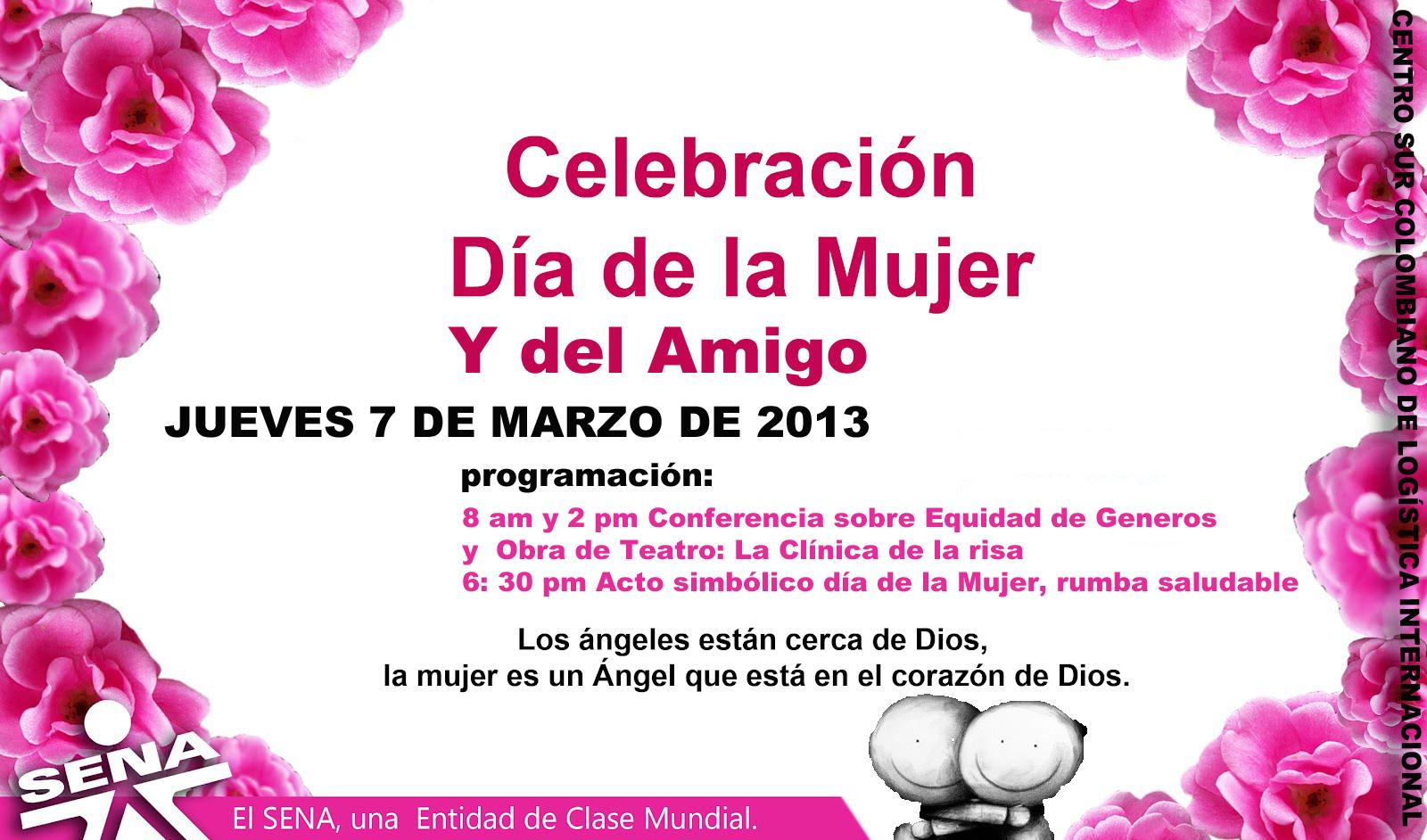 Invitación A Celebración Día De La Madre: CENTRO SUR COLOMBIANO DE LOGISTICA INTERNACIONAL