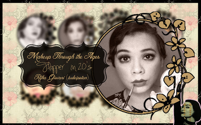 "Makeup Through the Ages COLLABORATION "" ( Flapper in 20's)"