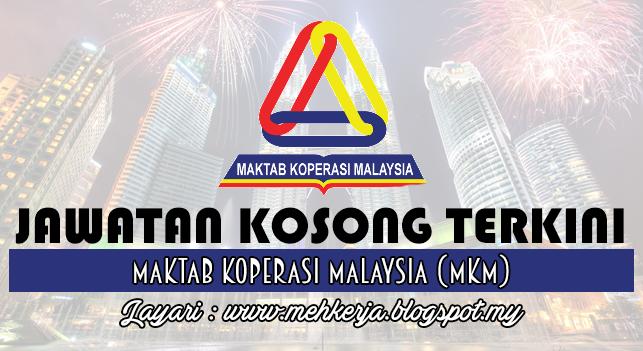 Jawatan Kosong Terkini 2016 di Maktab Koperasi Malaysia (MKM)