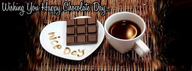 Happy Chocolate Day Facebook Cover Photo