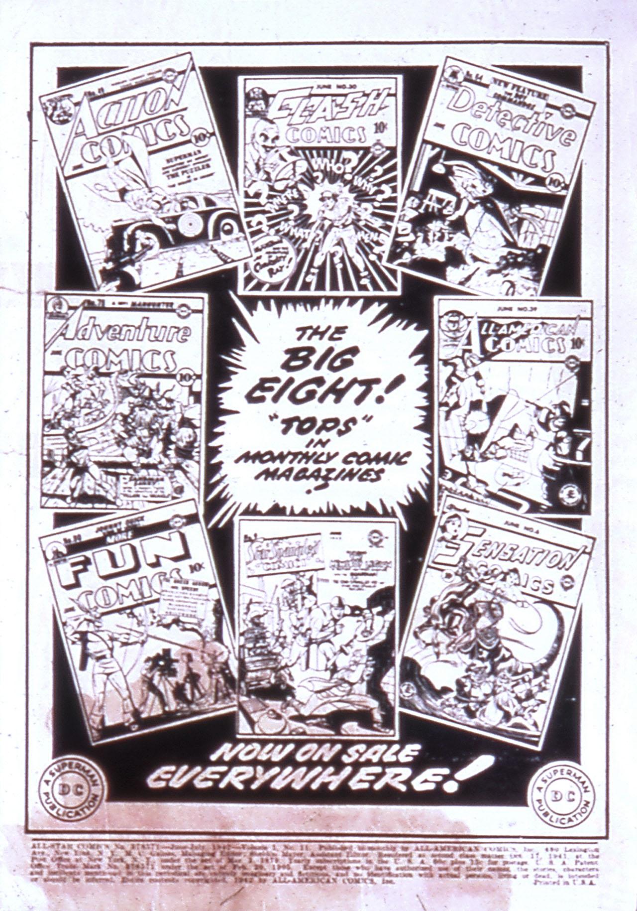 Read online All-Star Comics comic -  Issue #11 - 2