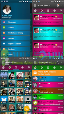 BBM Mod Disco Mix Theme Unclone Clone Apk
