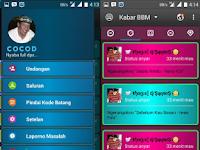 BBM Mod Disco Mix Theme v3.3.1.24 Unclone Clone Apk