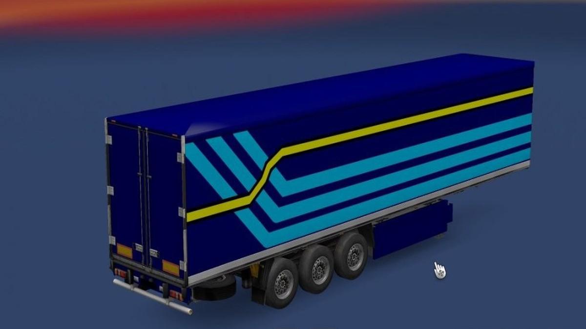 Simple Combo for Scania Streamline & Fridge Trailer