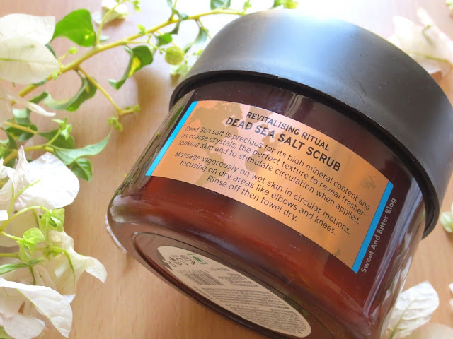 The Body Shop Spa of the World Dead Sea Salt Scrub Review