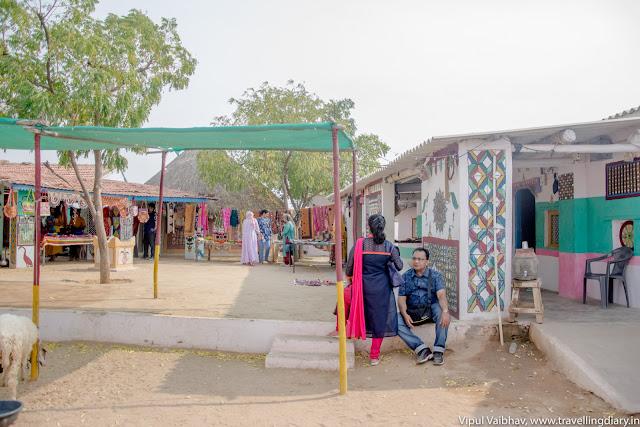 Gandhi nu Gam village shops, kutch