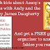 Kids Learn About Aesop's Fables With Andy and the Lion by James Daugherty... And a Free Printable Graphic Organizer!