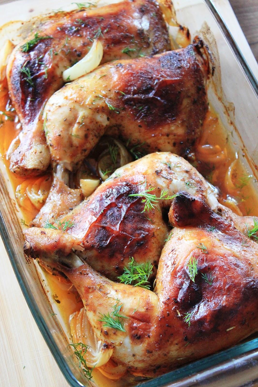 Pieczone Udka Kurczaka Z Chrupiaca Skorka Tysia Gotuje Blog Kulinarny