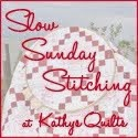 Slow Stitching Sundays