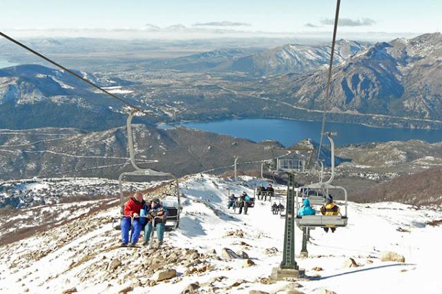 Como é a estação de esqui Cerro Catedral