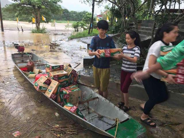 Toàn cảnh lũ lụt tại Ninh Bình và hoạt động cứu trợ tại Thanh Hoá - Ảnh minh hoạ 29