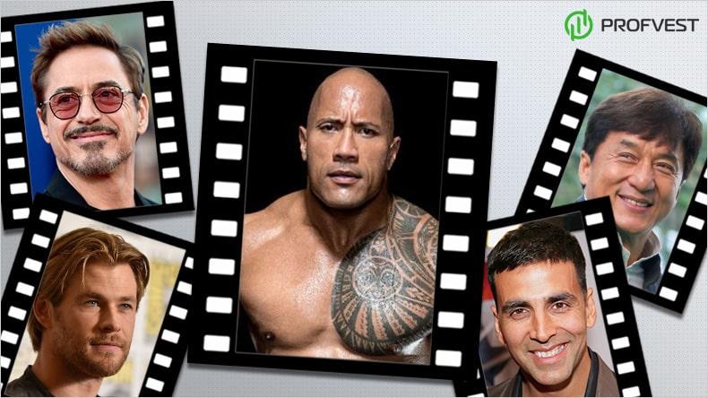 ТОП 10 самых высокооплачиваемых актеров в мире