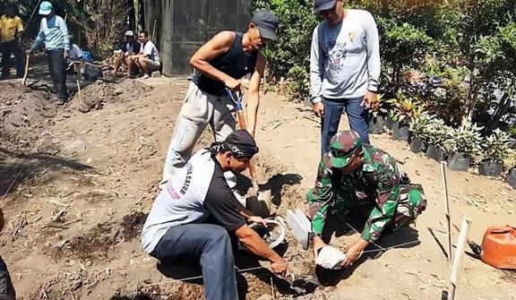 Pembangunan Posyandu di Desa Yosowilangun Kidul